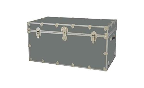 Toy Trunk - Silver (Extra large: 36 W x 18 D x 18 H (36 lbs.))