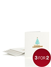 8 Luxury Tree Christmas Multipack of Cards