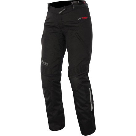 Alpinestars Stella Andes Drystar Motorcycle Pants - Black - Medium
