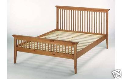 4ft6 (135cm) Double Shaker Wooden Bed Frame