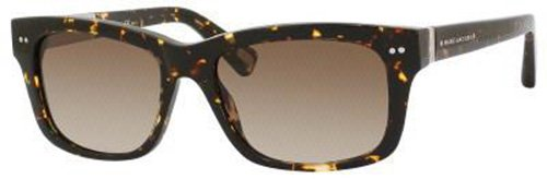 Marc Jacobs Marc Jacobs MJ317/S Sunglasses-0807 Black (3H Smoke Polarized Lens)-53mm