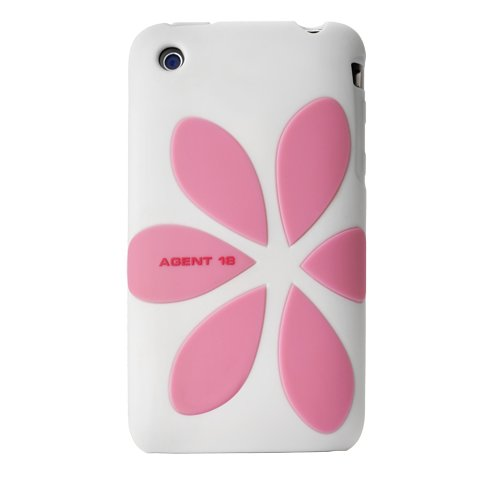 Agent18 Flowervest Refresh Case For Iphone 3G, 3G S (White)