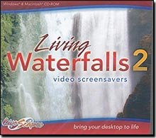 Living Waterfalls 2 Video Screensavers
