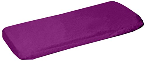 aBaby Organic Fitted Crib Sheet, Purple - 1
