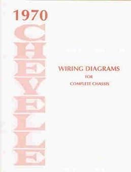 1970 chevelle wiring diagram manual reprint malibu  ss  el 70 Chevelle Wiring Harness Diagram 1970 Fairlane Wiring Diagram