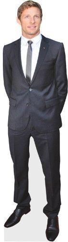 Silueta de Jenson Button Pequeña, Figura de Celebridad de 61 cm con Soporte,