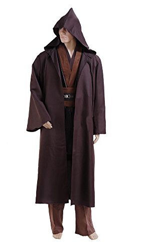 Men's Star Wars Anakin Skywalker Cosplay Brown Costume