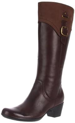 Clarks Women's Ingalls Delaware Boot,Brown,6 W US