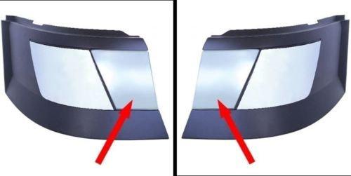 CPW (tm) Volvo VNL VN Bumper Trim Chrome Fog Light Cover Set Left + Right 41672+ (Volvo Semi Fog Lights compare prices)