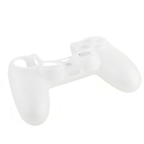 Silicone Gel Protective Case Skin Cover White for Sony PS4 Controller коньки раздвижные k2 charm ice подростковые 2014