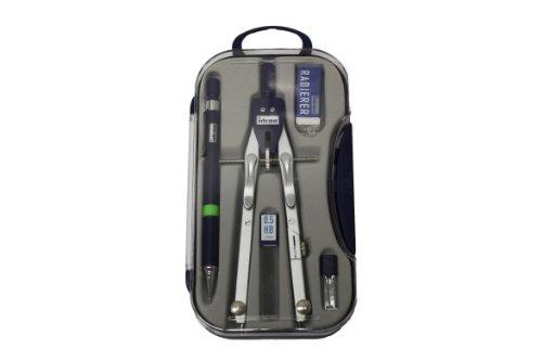 Idena 22910080 - Estuche con compás y accesorios (5 piezas)