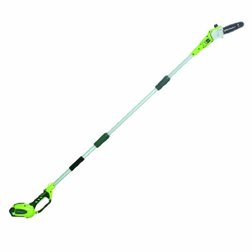 Greenworks 20672 G-Max 40V Li-Ion 8-Inch Cordless Pole Saw, (1) 2Ah Battery And A Charger Inc.