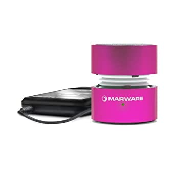 Marware UpSurge Rechargeable Mini Speaker, Pink