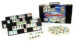 Large Number Rummikub Deluxe Ed in Leatherette Case