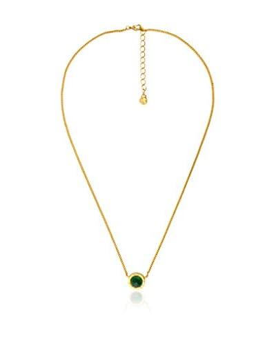 Renoma Collana Rosalie Jade  Dorato/Verde