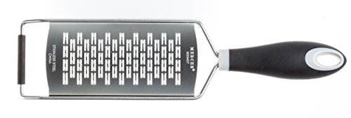 Mercer Culinary M35407 Mercergrates Ribbon, Wide, Stainless Steel, Black
