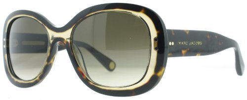 Marc Jacobs Marc Jacobs MJ431/S Sunglasses-0397 Havana (CC Brown Grad Lens)-55mm