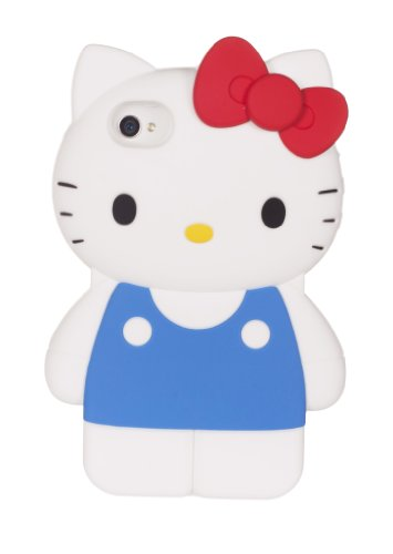 Hello Kitty Body Silicone iPhone 4 Case from Loungefly image