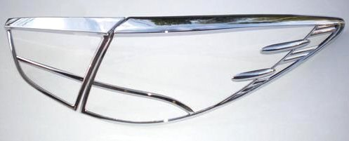 Hyundai ix35 CHROM TUNING HECKLEUCHTEN RAHMEN ZUBEHÖR