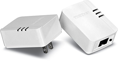 TRENDnet コンセントに差し込むだけの簡単PLCキット パワーライン 200 AV Nano PLC アダプターキット/ Powerline 200 AV Nano Adapter Kit [TPL-308E2K]
