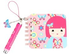 Kids Preferred Kimmidoll Junior Collection: Ellie Mini Notebook & Pen 3""
