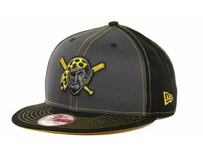 Pittsburgh Pirates Snap in Pop Black/Yellow Snapback