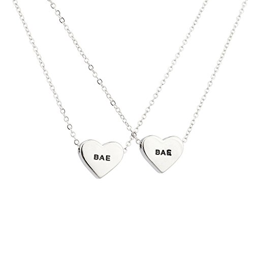 Lux accessori Bae Boo Cuore fidanzati BFF Best Friends collana Set.