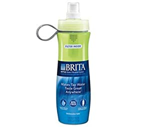 Brita Bottle Water Filtration System, Green