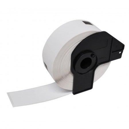 Compatible 1 x Brother DK22243 Étiquettes adhésives enlevables blanc pour P-Touch QL-1050, QL-1060N Imprimantes d'étiquettes