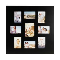 Melannco, 5067788, 9-Opening Black Wall Collage Frames