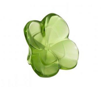 Lalique Trefle trifoglio, colore: verde