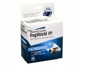 Bausch & Lomb FogShield XP Pre-Moist Lens Cleaning Tissue