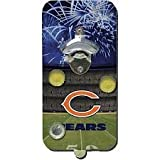 NFL Chicago Bears Clink-N-Drink Magnetic Bottle Opener