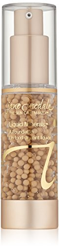 jane iredale Liquid Minerals A Foundation, Golden Glow, 1.01 oz.