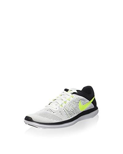 Nike Sneaker Flex 2016 RN weiß/schwarz