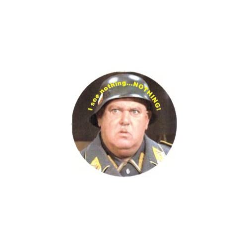Amazon.com: Sgt Schultz Know Nothing Pin