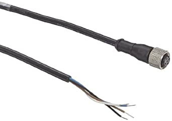 Banner MQDC-406 EZ Light Indicator Quick Disconnect Cable, DC Models, 4-Pins, Straight, 2 meters Cable Length