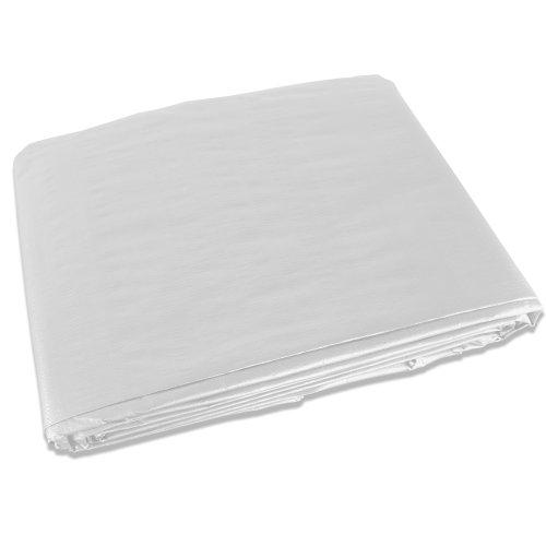 20 X 40 White Tarp Cover Canopy Patio Shade Yard 20X40