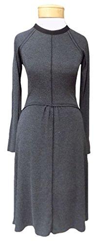 Hard Tail Long Sleeve Sweater Dress - Black (M, Black)