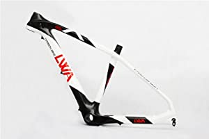 LVWA Full Carbon Mountain Bike Frame BB92 16.5in Small MTB FM-0021L 3k