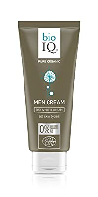 Best Cheap Deal for Organic Face Moisturizer for Men - Day and Night Face Cream Made with Natural Ingredients Designed Especially for Men's Skin. from BIO IQ - Free 2 Day Shipping Available