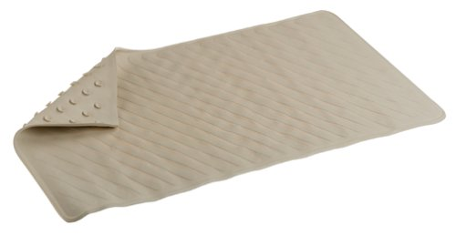 Carex 28 x 16 Bathtub Mat, Ecru