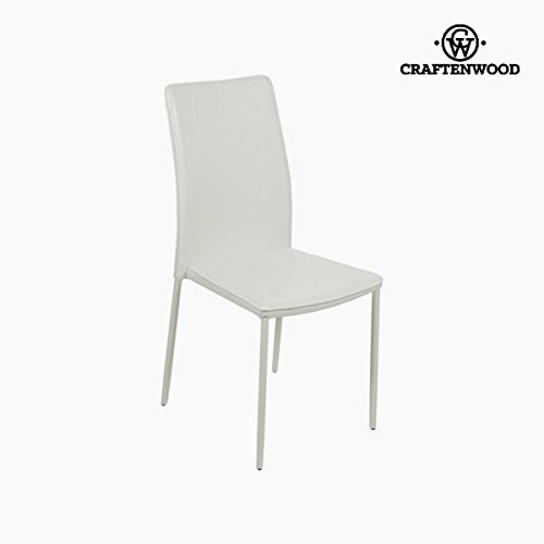 Sedia in pvc bianca by Craftenwood