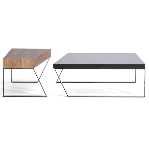 Buy low price baxton studio divyde 2 piece wooden modern for Buy modern coffee table