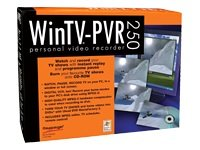 Hauppauge WinTV PVR 250 PCI Personal Video Recording card with TV Tuner