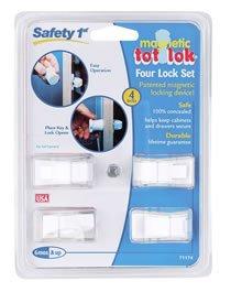 Safety-1st-Magnetic-Tot-Lok-Four-Lock-Set-Four-Locks