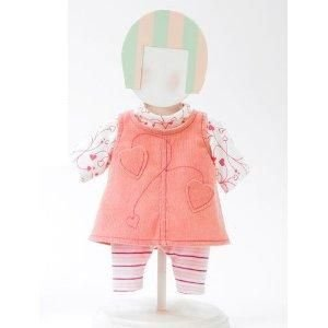 "Madame Alexander Heart Jumper Outfit for 12"" and 14"" Dolls"