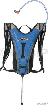 Source Spinner Hydration Pack: Blue/Gray; 50oz