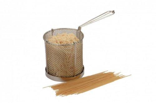 Pasta Spaghetti Vegetable Boiler Colander Drainer Basket