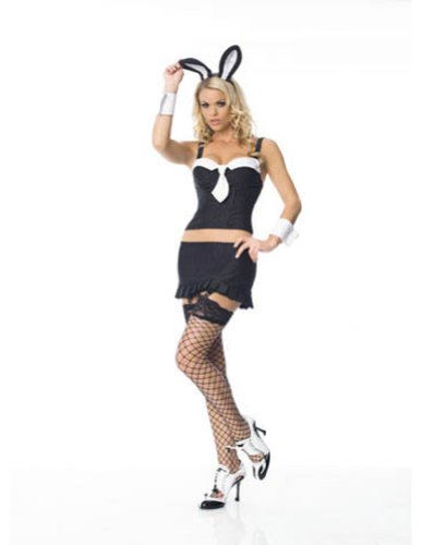 Bunny Gangster Set Md Halloween Costume - Adult Medium